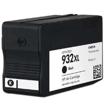 HP 932XL Black Refurbished Ink Cartridge - (CN053AE) HP 932